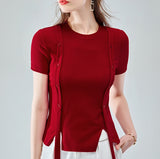 Freya Button Top