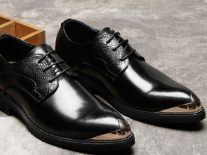 Keon Leather Brogue Shoes