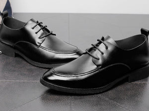 Keahi Leather Derby Shoes