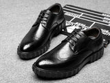 Kirk Leather Brogue Shoes