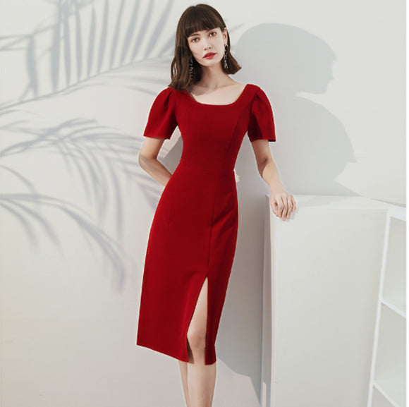 Angeline square Neck Dress