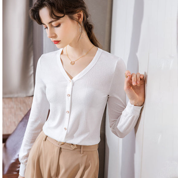 Sophia Button Top