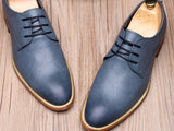 Lvarto Leather Derby Shoes
