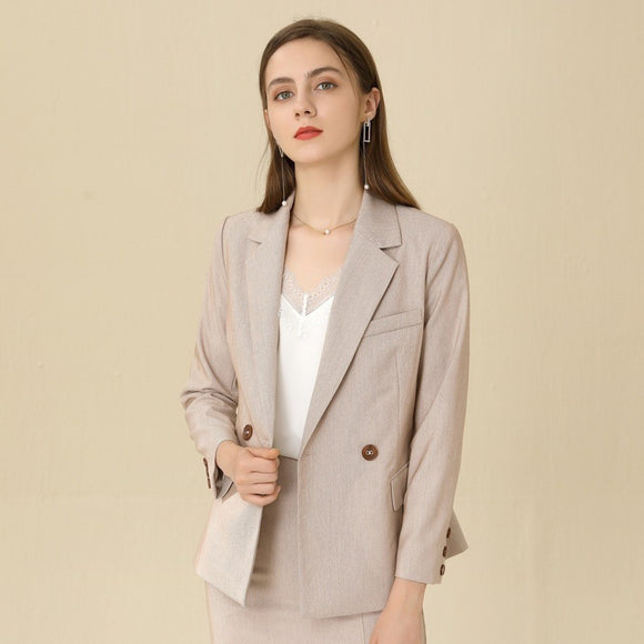Amelia Button Blazer