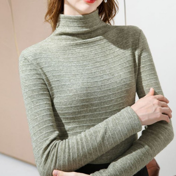 Esther Turtle Neck Long Sleeve Top