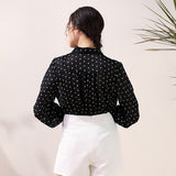 Debra Polka Dots Top