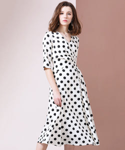 Cheryl Dot Dress (Non-Returnable)
