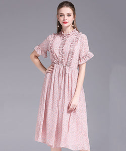 Bea Chiffon Dress (Non-Returnable)