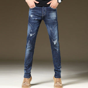 Braden Ripped Slim Fit Jeans (Non-Returnable)