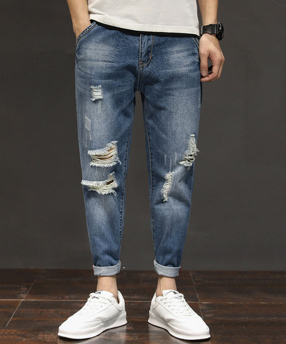 Edwin Ripped Jeans (Non-Returnable)
