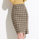 Reyna  Checked Skirt (Non-Returnable)