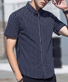 Marcus Striped Short Sleeve Shirt