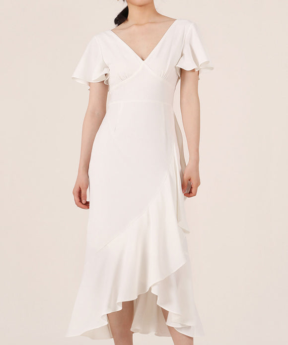 Eliza V Neck Dress (Non-Returnable)