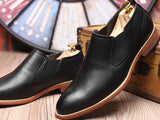 Jake Slip On Leather Shoes (Non-Returnable)