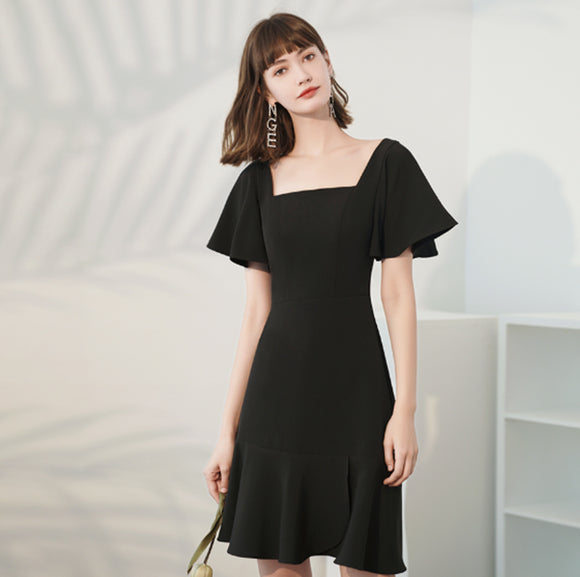 Bae Square Neck Dress