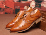 Kester Leather Brogue Shoes