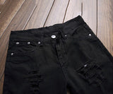 Elazer Ripped Slim Fit Jeans (Non-Returnable)