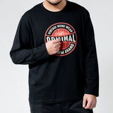 Aaron Long Sleeve Printed T-Shirt