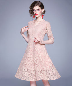 Taylor Lace Dress (Non-Returnable)