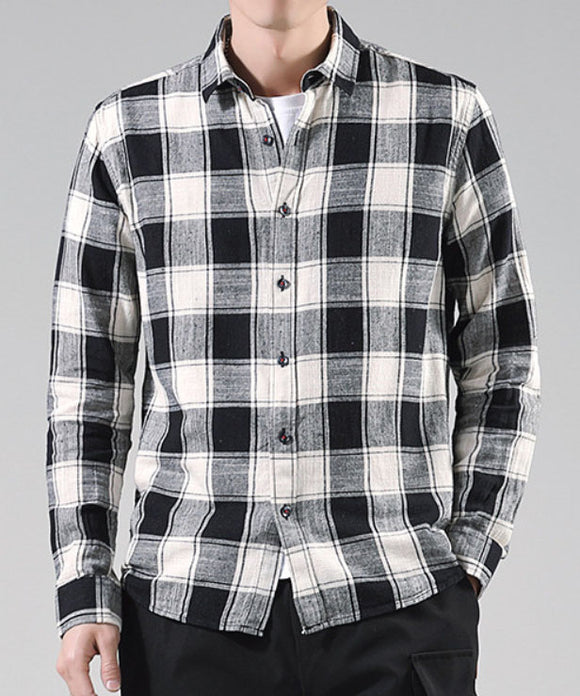 Mark Checked Shirt (Non-Returnable)