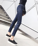 Annabel High Waist Skinny Cropped Jeans
