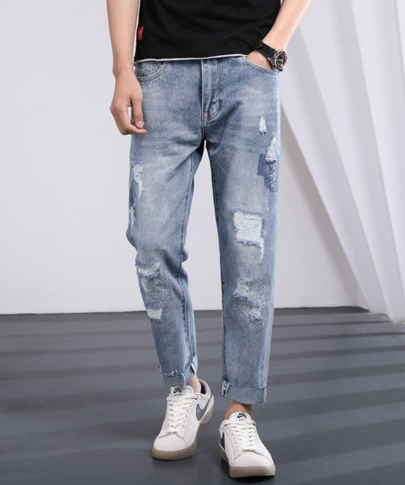 Jeffery Ripped Jeans