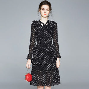 Ariana Polka dots Dress