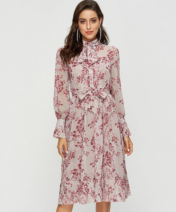 Shelby Floral Dress (Non-Returnable)