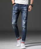 Maximus Ripped Slim Fit Jeans (Non-Returnable)