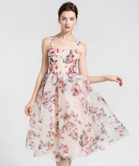 Maryam Floral Printed Dress (Non-Returnable)