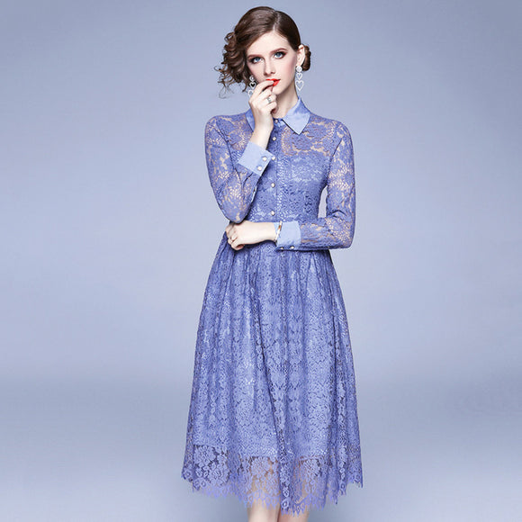 Liana Lace Dress (Non-Returnable)