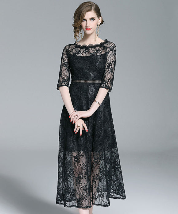 Shailene Lace Dress (Non-Returnable)