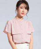 Naomi Chiffon Top (Non-Returnable)