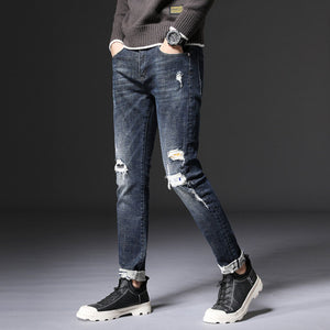 Micah Ripped Slim Fit Jeans (Non-Returnable)