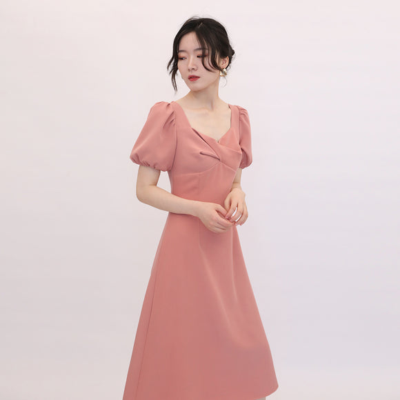 Victoria Puff Sleeve Dress