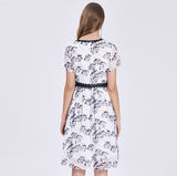 Bidelia Print Dress