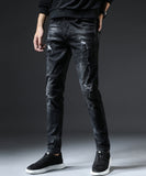 Dean Slim Fit Ripped Jeans