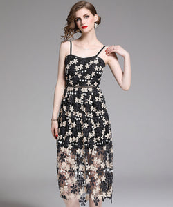 Pamela Embroidery Dress (Non-Returnable)