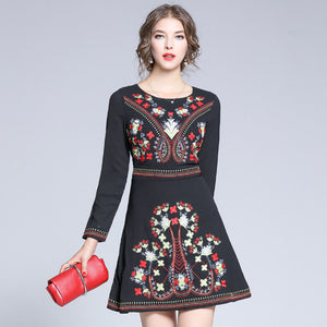 Katalina Embroidery Dress (Non-Returnable)