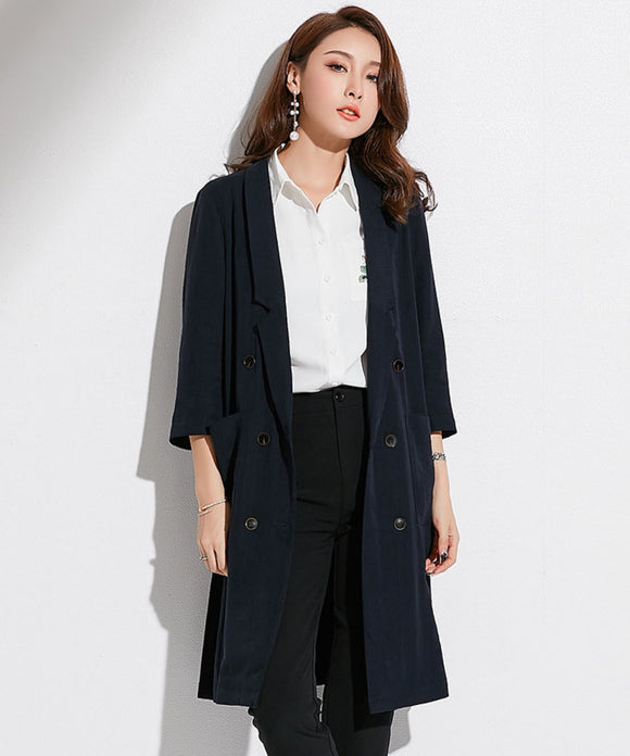 Nora Long Suit Blazer
