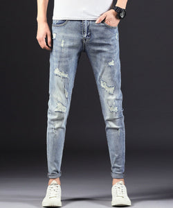 Elias Ripped Slim Fit Jeans