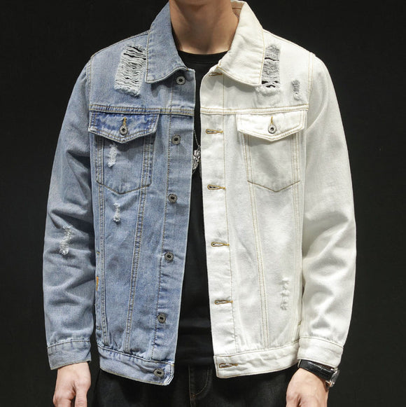Connor Two Tone Denim Jacket