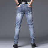 Seth Embroidery Slim Fit Jeans (Non-Returnable)