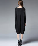 Bidu Splicing Loose Dress (Non-Returnable)