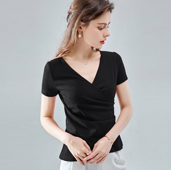 Akilah V Neck Top