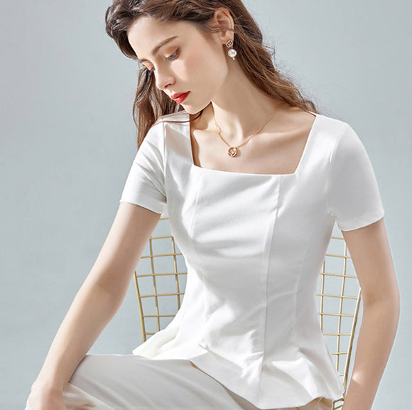 Zuzu Square Neck Top