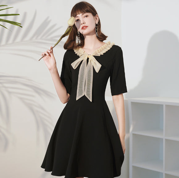Zia Ribbon Tie Dress