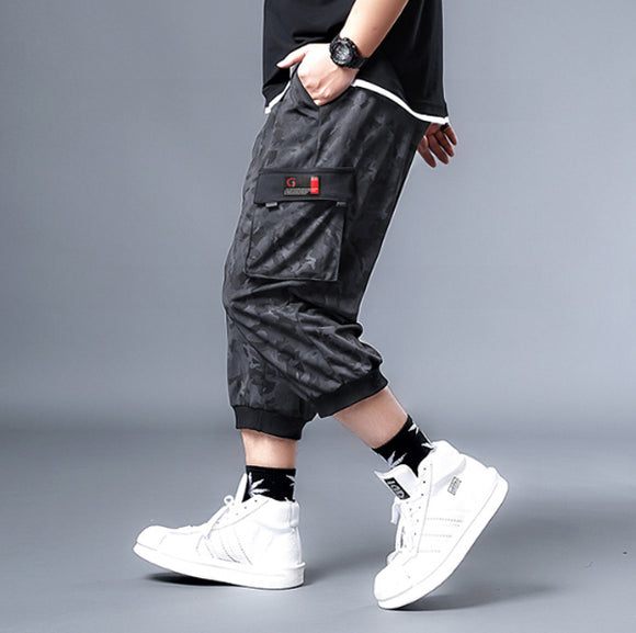 Jeremy Drawstring Capri Pants