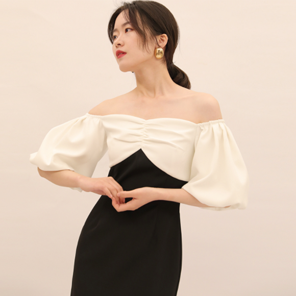 Adalyn Off Shoulder Dress