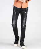 Foster Ripped Slim Fit Jeans (Non-Returnable)